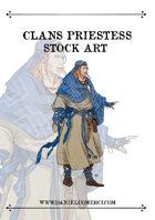 Priestess Shaman Stock Art