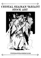 Crystal Shaman Stock Art