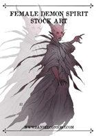 Female Demon Spirit Stock Art
