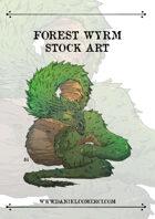 Forest Wyrm Stock Art