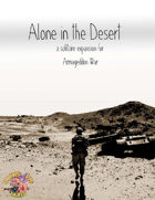 Armageddon War: Alone in the Desert