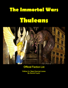 The Immortal Wars Factions: Thuleans