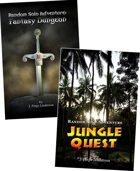 Random Solo Adventure: Fantasy Dungeon & Jungle Quest [BUNDLE]