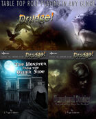 Drudge! Rule Book + Monster + Unnatural adventures [BUNDLE]