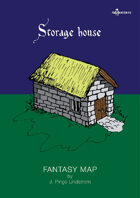 Fantasy Maps: Storage House with Basement