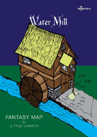 Fantasy Maps: Water Mill
