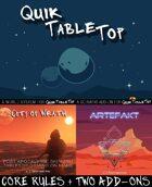 QuikTableTop | Core Rules + City of Wrath + Artefakt [BUNDLE]
