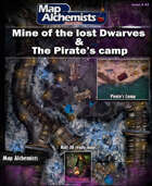 Double Package mine of the lost dwarves & Pirate's camp
