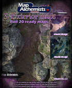 3 Exterior battlemaps for Roll 20 44x44
