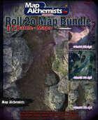 13 Fantasy battle-Maps for Roll 20 & Printing Bundle [BUNDLE]