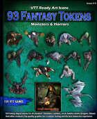 93 fantasy Monsters & horror tokens