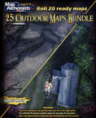 25 Outdoor Battle-Maps Collection for Roll 20 [BUNDLE]