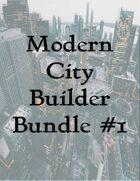 Modern City Builder Bundle #1 [BUNDLE]