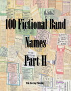100 Fictional Band Names Part II