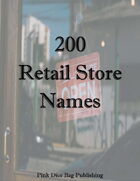 200 Retail Store Names