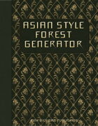 Asian Style Forest Generator