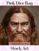 Stock Art-Weathered Male Dwarf Portrait