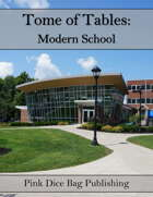 Tome of Tables: Modern School