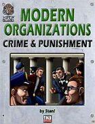 Modern Organizations: Crime and Punishment