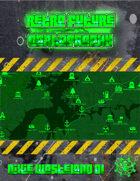 Retro-Future Cartography: Dixie Wasteland 01