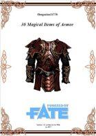Gregorius21778: 30 Magical Items of Armor (PbF