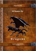 Gregorius21778: 99 Names for Dragons
