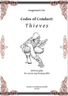 Gregorius21778: Codes of Conduct: Thieves