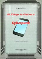 Gregorius21778: 99 Things to Find on a Cyberpunk