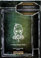 Gregorius21778: Weird Contaminated World Surplus Output 2020