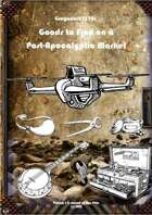 Gregorius21778: Goods to Find on a Post-Apocalyptic Market