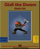 Gixli the Dwarx Stock Art
