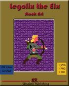 Legolix the Elx Stock Art