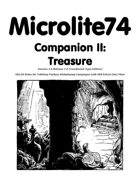 Microlite74 Companion II: Treasure