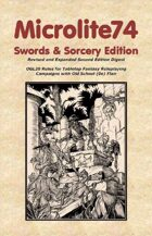 Microlite74 Swords & Sorcery 2e Digest/Epub