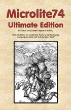 Microlite74 Ultimate Edition Digest/Epub