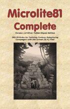 Microlite81 Complete Digest/Epub