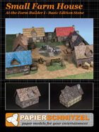 Small Farm House At-The-Farm I BASIC EDITION STONE