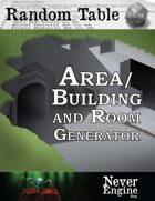 Area/Building and Room Generator