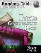Item Generation Pack - Fantasy [BUNDLE]