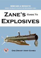 Zane's Guide to Explosives
