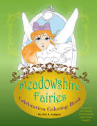 Meadowshire Fairies Celebration Coloring Book