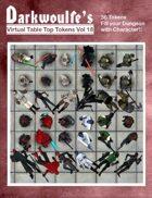 Darkwoulfe's Token Pack Vol 18: Space Saga