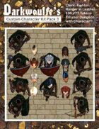 Darkwoulfe's Token Pack - Customizable Character Kit Pack 3