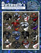 Darkwoulfe's Token Pack - Customizable Armor Kit Pack 2 - Quest Knights