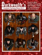 Darkwoulfe's Token Pack - Customizable Races Kit Pack 5 - The Dwarves
