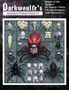Darkwoulfe's Token Pack - Creature Feature Vol 01 - Queen of the Spiders