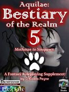 Aquilae: Bestiary of the Realm: Volume 5 (Pathfinder)