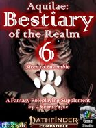 Aquilae: Bestiary of the Realm: Volume 6 (Pathfinder Second Edition / P2E)