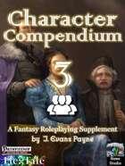 Character Compendium 3 (Pathfinder)