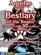 Aquilae: Bestiary of the Realm: Volume 2 (OSR)